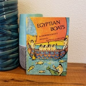 Book: Egyptian Boats by Geoffrey Scott